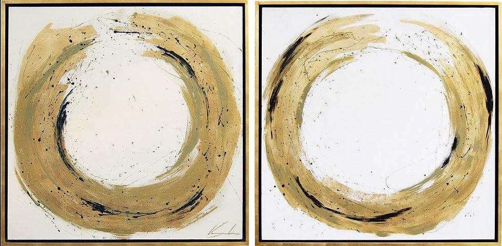 Set de 2 cuadros decorativos CO16019