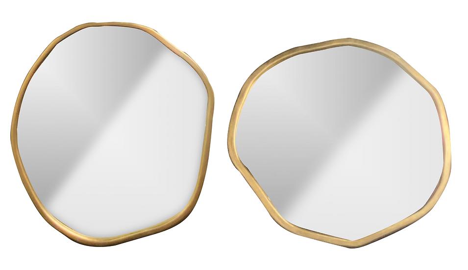 Set de 2 espejos redondo CAE112
