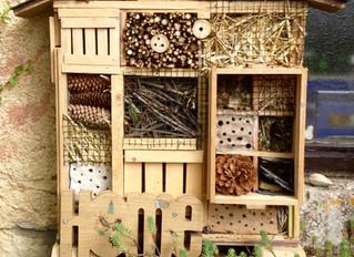 Het driesterren-insectenhotel