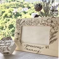 Handmade - Wooden Photo Frame - Love Spr
