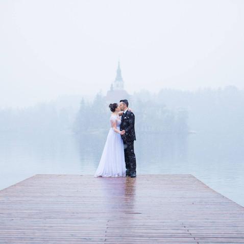 Lake Bled Dream Wedding