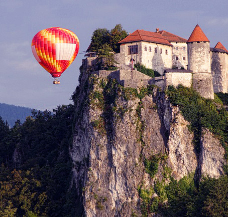 The Sky Is All Yours: Private Hot Air Balloon Ride Across The Alps