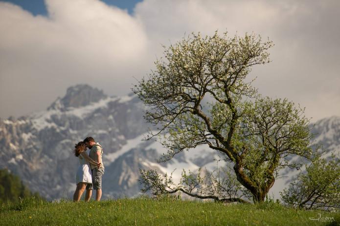 slovenia engagement photography
