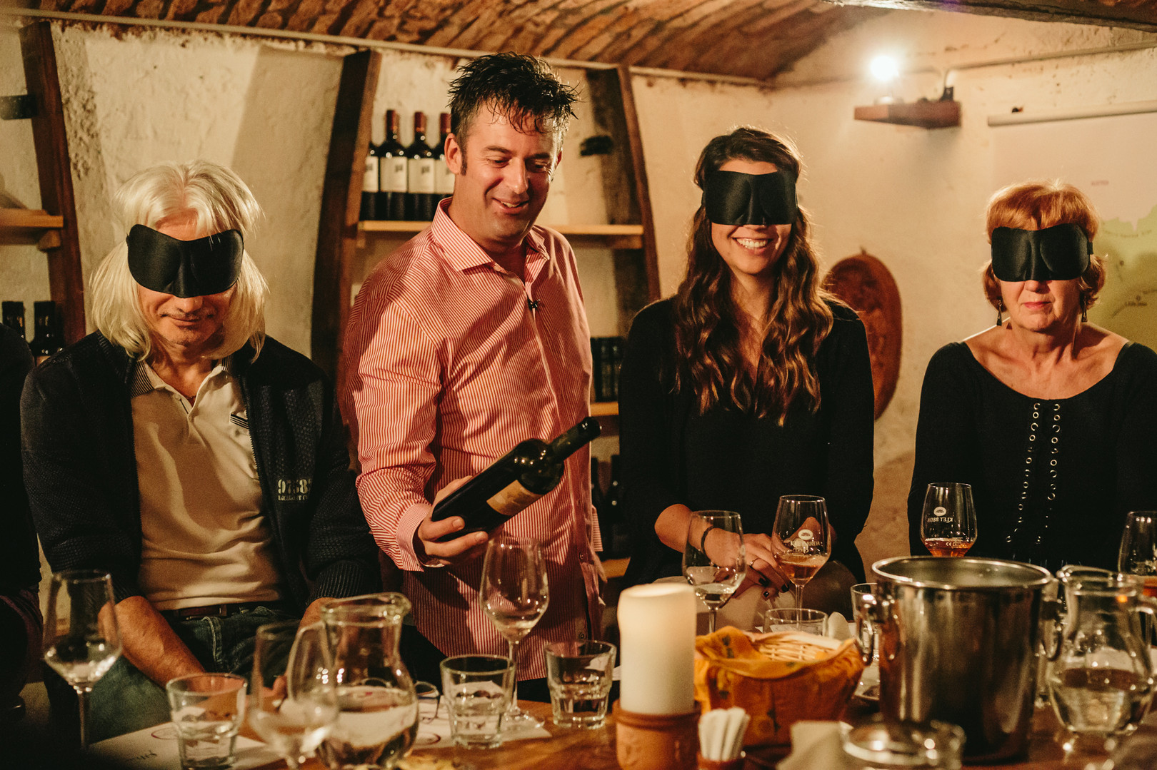 Wine tasting games KUMA HOME Slovenia