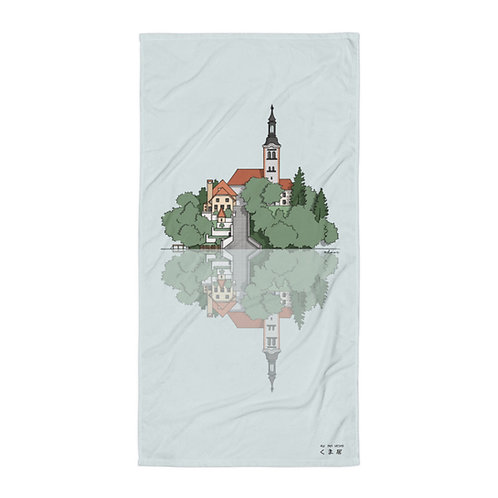 Take A Bath in Bled - Sublimation Towel