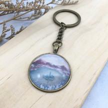 Bled Acrylic Paint - Handmade Key Chain
