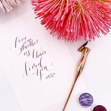 Calligraphy - Bonivoyage