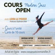 Cours Open Modern Jazz