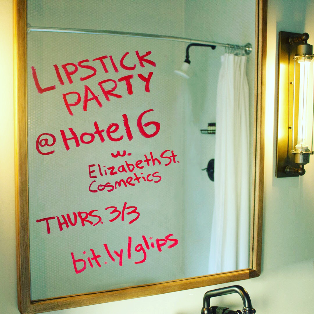 Lipstick Party Invitation