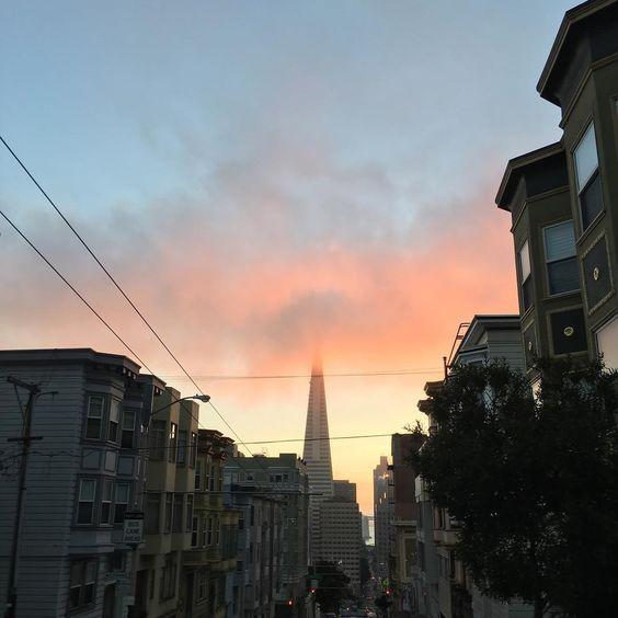 nob hill sunrise