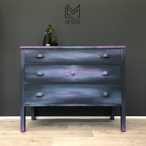 Mystical Bohemian Chest of Drawers