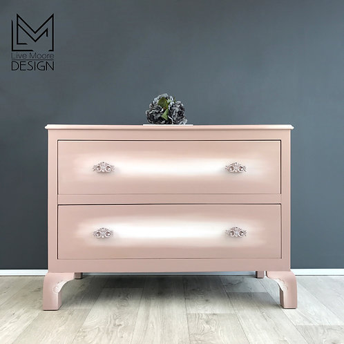 Dreamy Damask Chest of Drawers