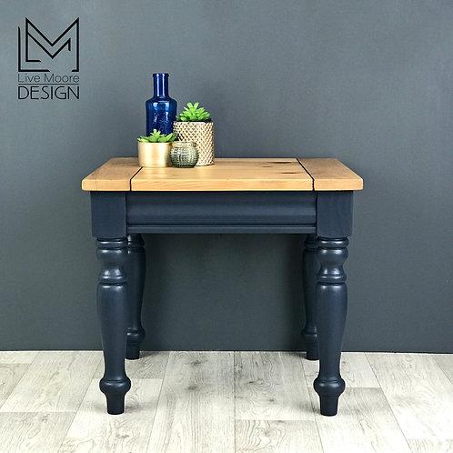 Pine Midnight Blue Table