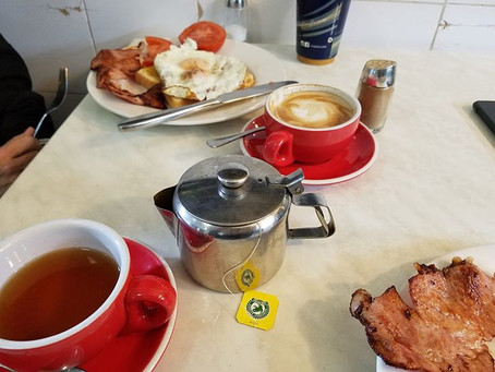 Walkable city, Great Hotel, and Aussie pies