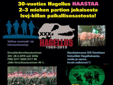 Hagellus XXX 4.5.2019
