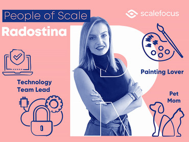 Radostina, a Cybersecurity Team Lead with a Creative Heart