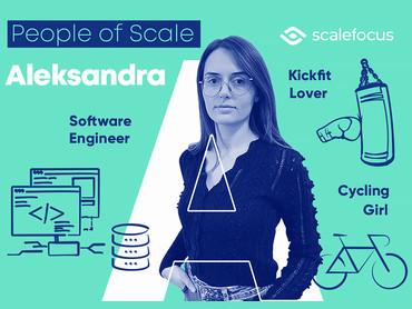 Aleksandra, a Software Engineer Who Loves Kickfit and Progressive Metal