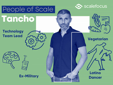 Tancho Mihov, an Ex-Military DevOps Technology Lead with Dancing Skills