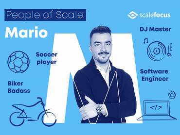 People of Scale: Mario, a DJ, a Bike Rider… a Software Engineer