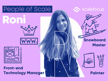 Roni, a Front-end Technology Manager With Love For Snowboarding