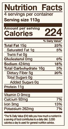 nutrition facts beet burger.png