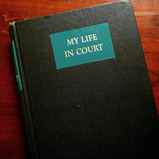 My Life In Court, Louis Nizer famous american jurisprudence trial attorney and advocate.