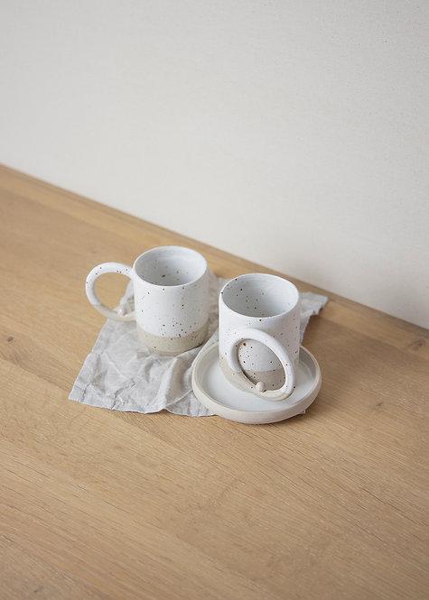 Speckled Circle Mug