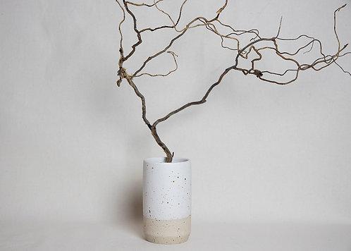 Half Dip Speckled Vase