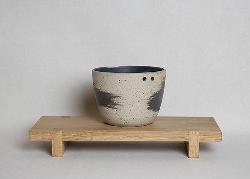 Charcoal Brush Ramen Bowl