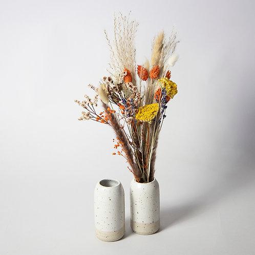 Speckled Bud Vase