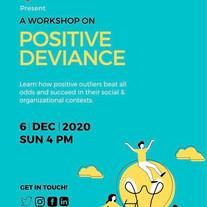 The Change Designers: Positive Deviance Workshop