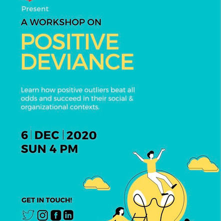 The Change Designers: Positive Deviance Workshop