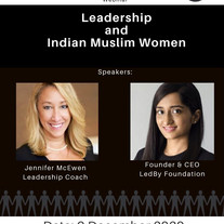 Muslim Youth Voices: Leadership and Indian Muslim Women