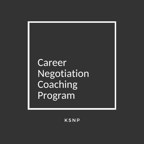 Career Negotiation Coaching Program | Joan Moon
