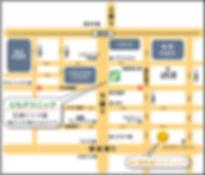 ともクリニック,地図,バス停,マップ,駐車場,下通り