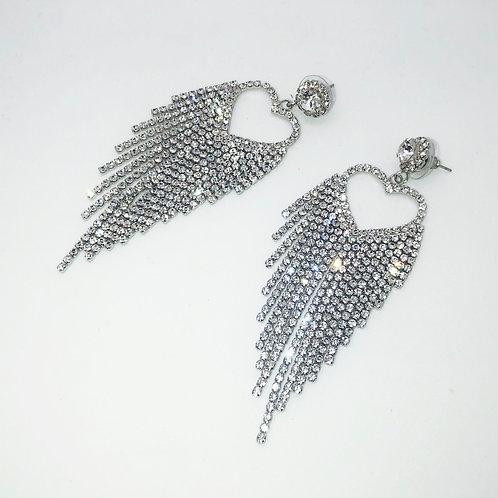Diamond Tassle Earring