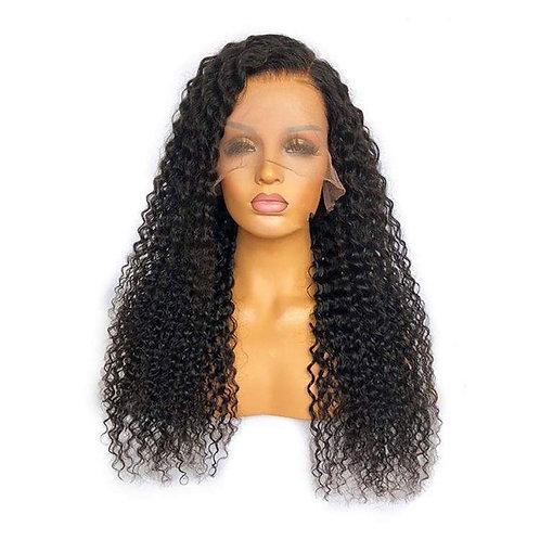 Deep curly frontal wig HD