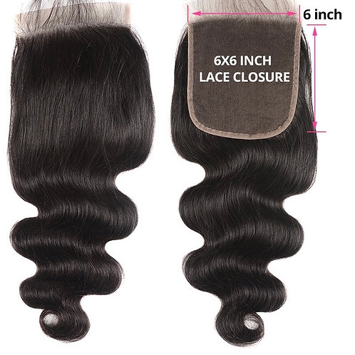 6*6 Bodywave Closures