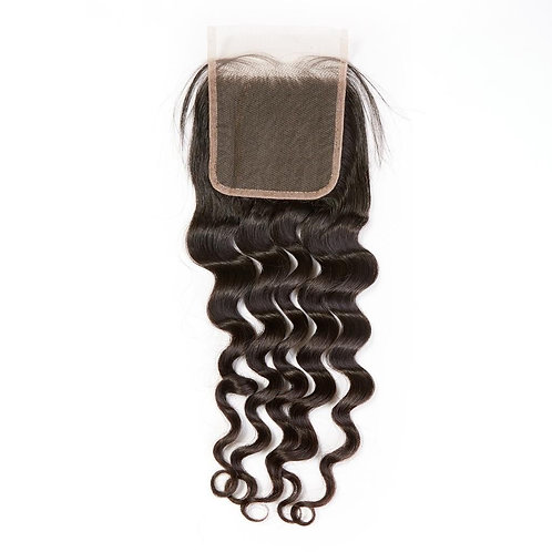 5 by 5 Loose Curl Closure