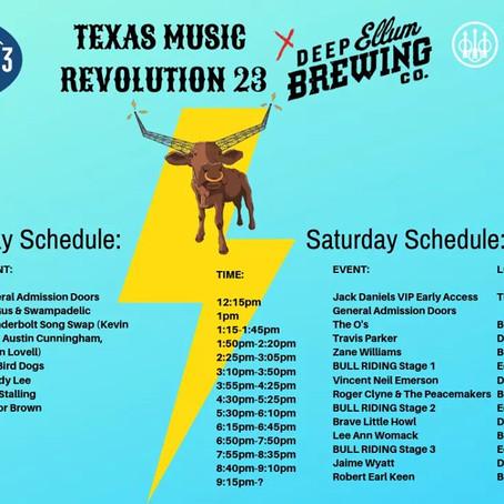 TEXAS MUSIC REVOLUTION!