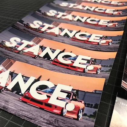 Stance Slap Sticker