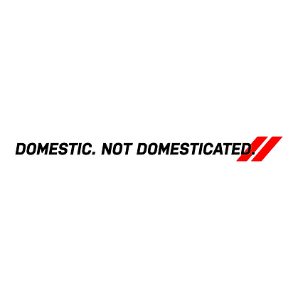 Domestic. Not Domesticated.
