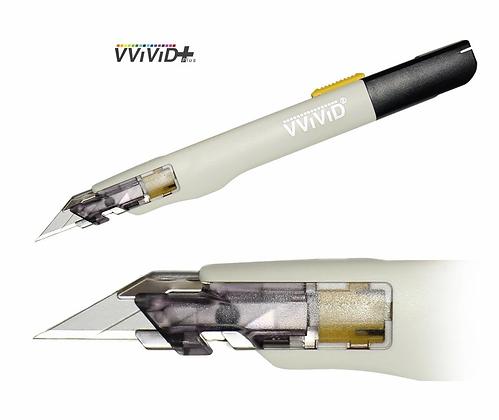 VViViD+ Premium Precision 30° Retractable Utility Cutting Knife