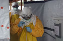 CDC_Director_exiting_Ebola_treatment_uni