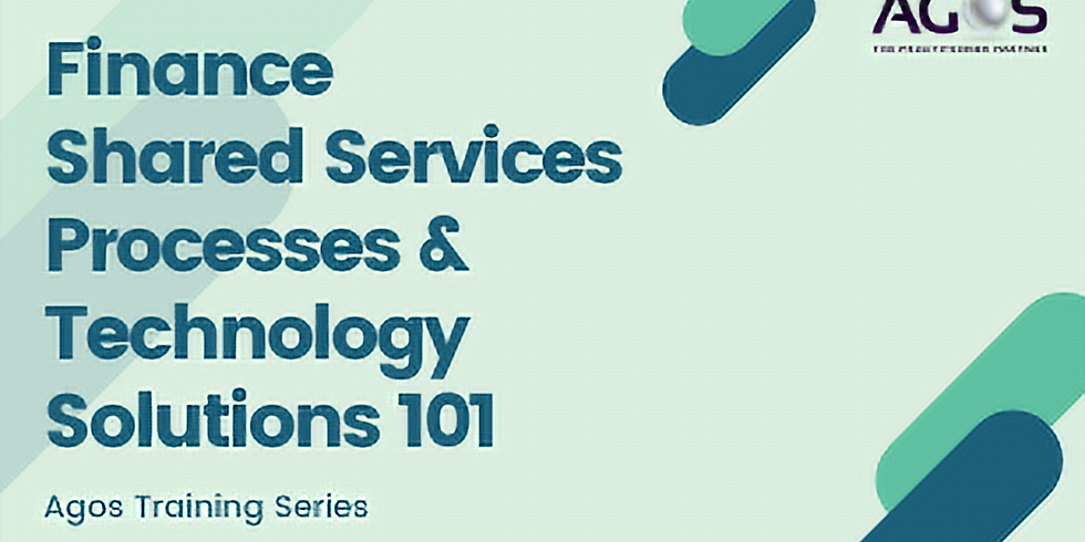 Finance Shared Services Processes & Technology Solutions 101