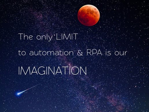 RPA- Allowing Humans to be more Humans
