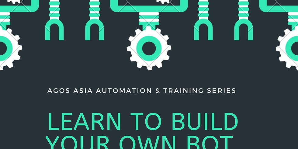 Learn How to Build Your Own Bot