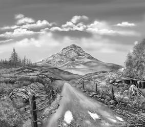 Sketching Scotland