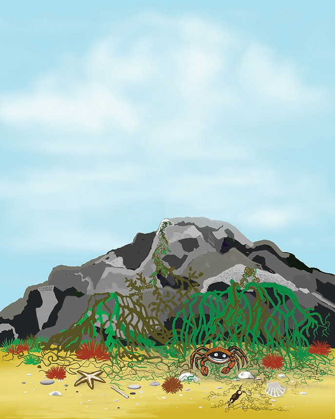 Dragon behind rock hiding.jpg