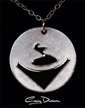 symbol necklace.
